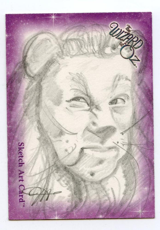 Wizard of Oz Sketch Card by Jessica Hickman