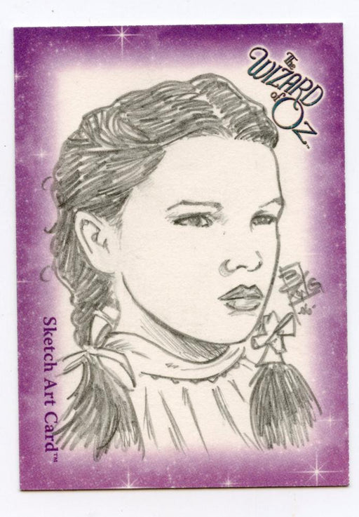 Wizard of Oz Sketch Card by Brian Kong - Dorothy   - TvMovieCards.com