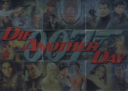 James Bond Die Another Day Montage Foil Puzzle Chase Card Set 1 thru 9   - TvMovieCards.com