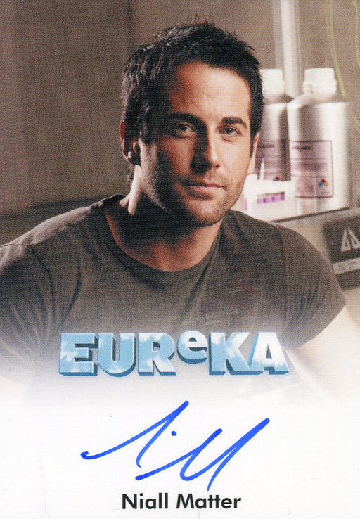 Eureka Seasons 1 & 2 Niall Matter as Zane Donovan Autograph Card   - TvMovieCards.com