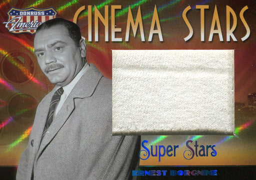 Americana Cinema Stars Ernest Borgnine Limited Costume Card CS-8 #03/10   - TvMovieCards.com