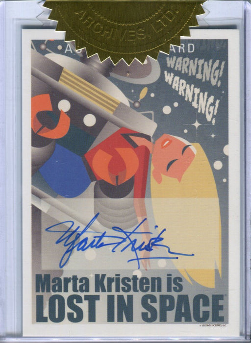 Lost in Space Archives Series 2 Character Art Marta Kristen Autograph Card AO2   - TvMovieCards.com