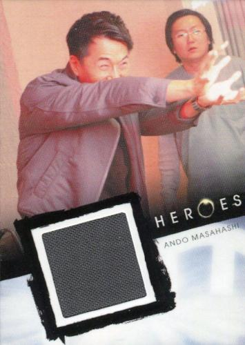 Heroes Archives Ando Masahashi Costume Card   - TvMovieCards.com