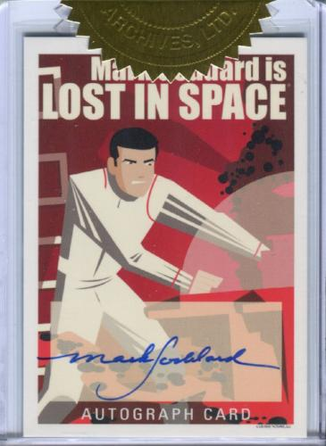 Lost in Space Archives Series 2 Character Art Mark Goddard Autograph Card AO5   - TvMovieCards.com