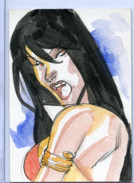 Vampirella New Series Sketch Card Sketchafex #4   - TvMovieCards.com