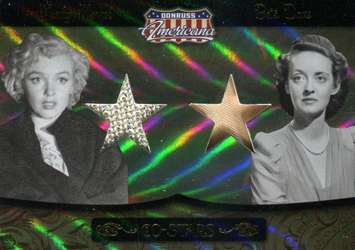 Americana Co-Stars Monroe & Davis Limited Double Costume Card CSM-1 35/50   - TvMovieCards.com