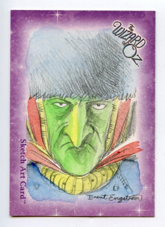 Wizard of Oz Sketch Card by Brent Engstrom - The Guard