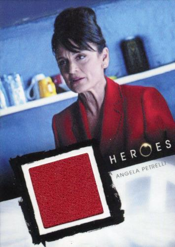 Heroes Archives Angela Petrelli Costume Card   - TvMovieCards.com