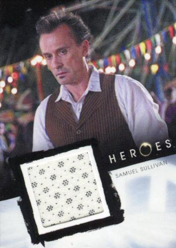Heroes Archives Samuel Sullivan Costume Card   - TvMovieCards.com