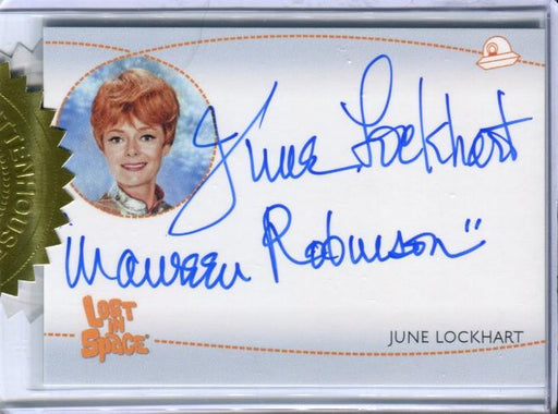Lost in Space Archives Series 2 June Lockhart as Maureen Autograph Card AI5 #1   - TvMovieCards.com