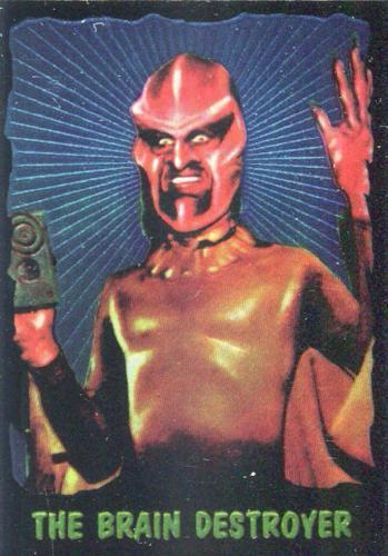 Outer Limits 1997 Chromium Chase Card 1 of 6 Front