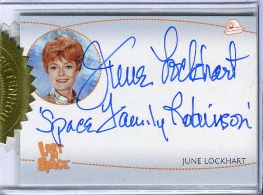 Lost in Space Archives Series 2 June Lockhart as Maureen Autograph Card AI5 #2   - TvMovieCards.com