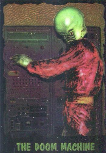Outer Limits 1997 Chromium Chase Card 4 of 6   - TvMovieCards.com