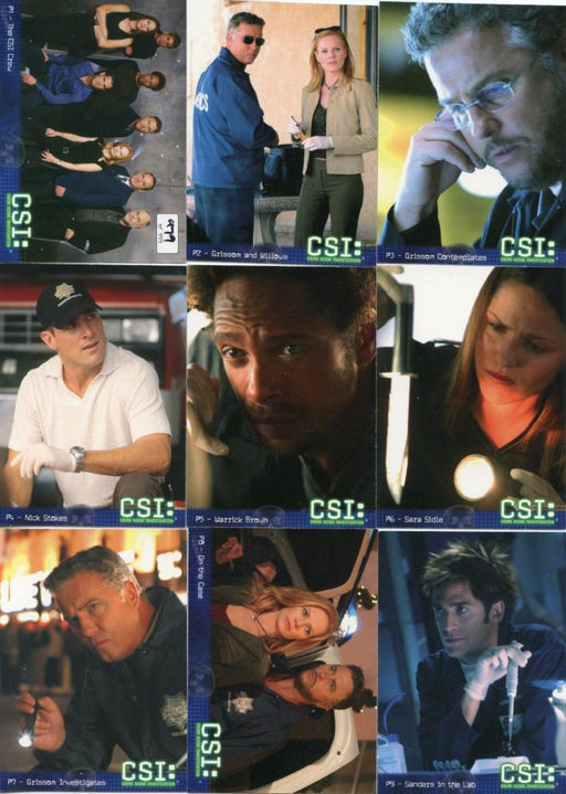 CSI Crime Scene Investigation Preview Card Set Season 2   - TvMovieCards.com