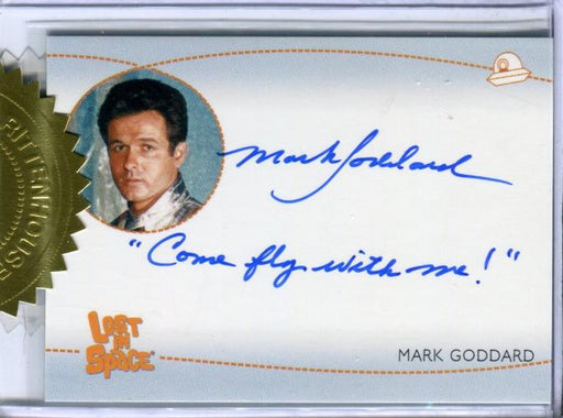 Lost in Space Archives Series 2 Mark Goddard as Don West Autograph Card AI5 #3   - TvMovieCards.com