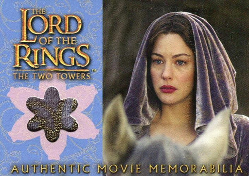 Lord of the Rings Two Towers Update Arwen's Requiem Cloak Costume Card   - TvMovieCards.com