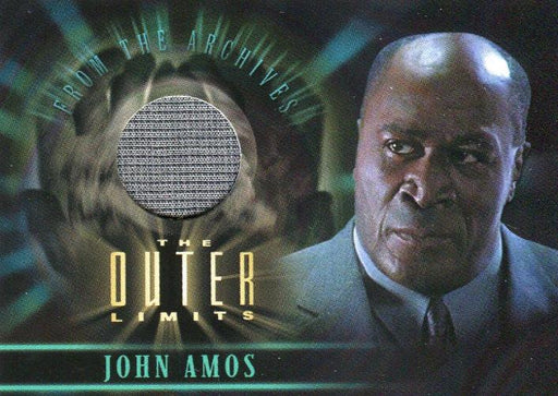 Outer Limits Sex, Cyborgs & Science Fiction John Amos Costume Card CC2   - TvMovieCards.com