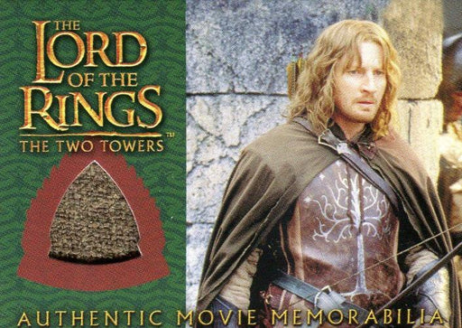 Lord of the Rings Two Towers Update Faramir's Ranger Outfit Costume Card   - TvMovieCards.com