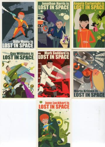 Lost in Space Archives Series 2 Juan Ortiz Character Art Chase Card Set OC1 OC7   - TvMovieCards.com