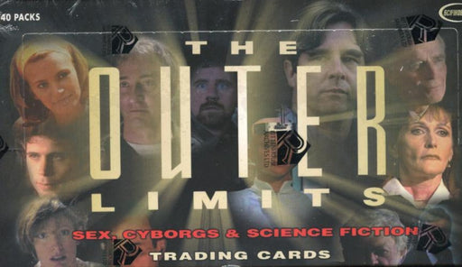 Outer Limits Sex, Cyborgs & Science Fiction Card Box   - TvMovieCards.com