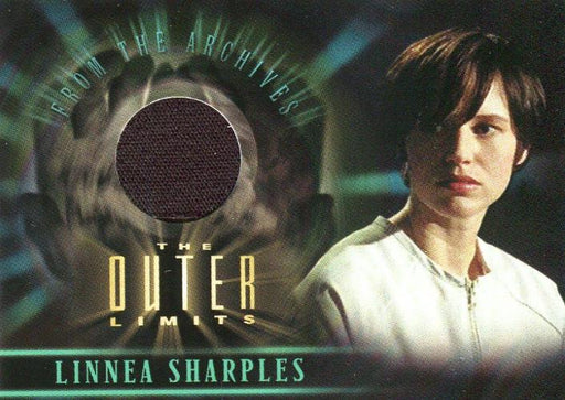 Outer Limits Sex, Cyborgs & Science Fiction Linnea Sharples Costume Card CC5   - TvMovieCards.com