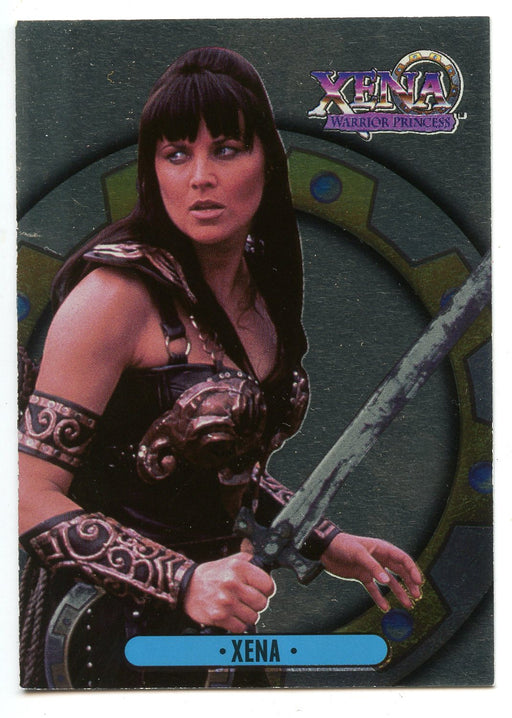 Xena Series One by Topps Foil Chase Card  Bonus Card B1   - TvMovieCards.com