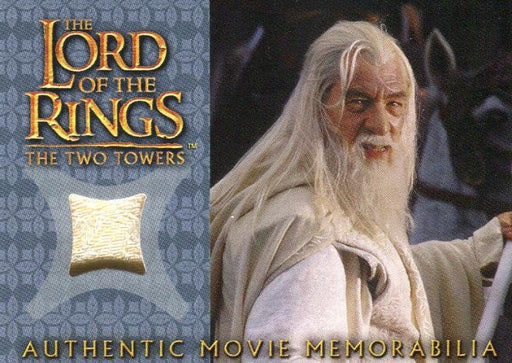 Lord of the Rings Two Towers Update Gandolph's Silk Shirt Costume Card   - TvMovieCards.com