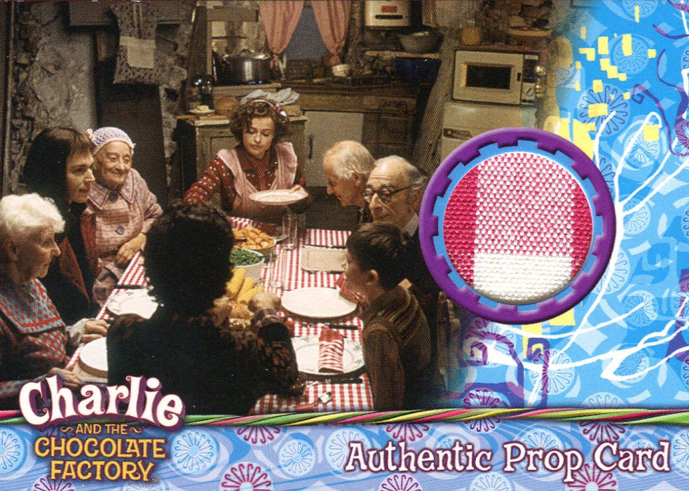 Charlie & Chocolate Factory Tablecloth Prop Card #284/543   - TvMovieCards.com