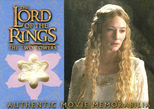 Lord of the Rings Two Towers Update Galadriel's Silk Chiffon Costume Card   - TvMovieCards.com