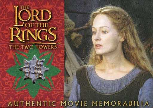 Lord of the Rings Two Towers Update Eowyn's Underfrock Costume Card   - TvMovieCards.com