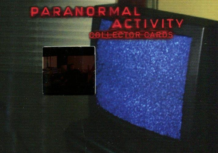 Paranormal Activity Movie Film Cell Chase Card Cell 3 Front