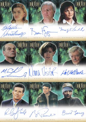 Outer Limits Sex, Cyborgs & Science Fiction Autograph Card Set 16 Cards   - TvMovieCards.com