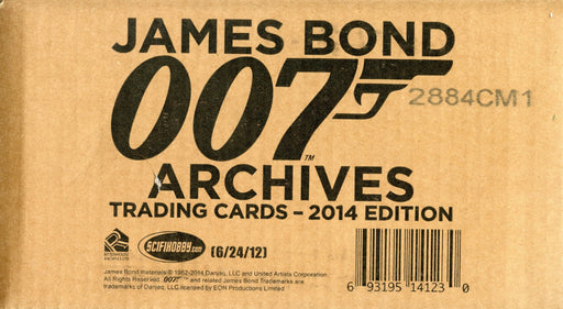 James Bond Archives 2014 Edition 12 Card Box Case Factory Sealed   - TvMovieCards.com