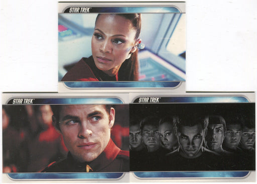 Star Trek Movie Promo Card Set of 3 Cards P1 P2 CP1 2009   - TvMovieCards.com