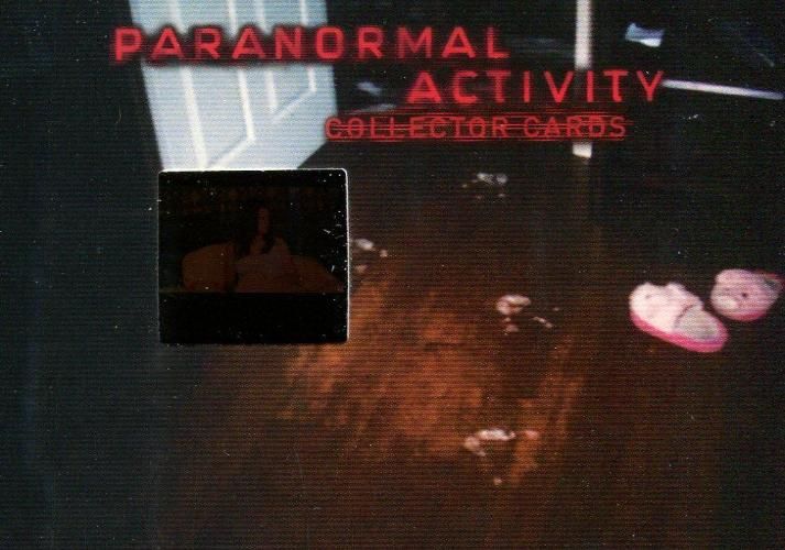 Paranormal Activity Movie Film Cell Chase Card Cell 1 Front