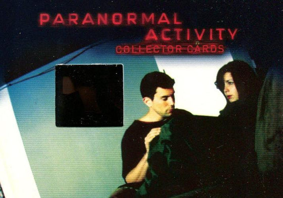 Paranormal Activity Movie Film Cell Chase Card Cell 2 Front