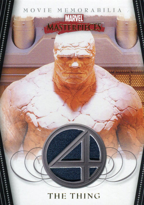 Marvel Masterpieces Two Fantastic Four Movie The Thing Costume Card FF4 of 5   - TvMovieCards.com