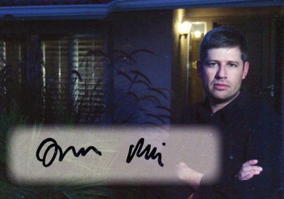 Paranormal Activity Movie Writer and Director Oren Peli Autograph Card Front