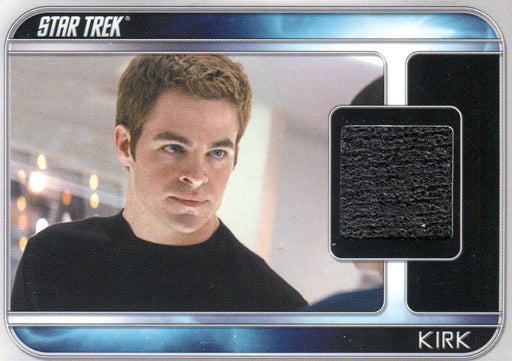 Star Trek The Movie 2009 Chris Pine as Kirk Costume Card CC1   - TvMovieCards.com