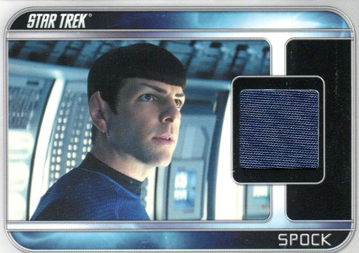 Star Trek The Movie 2009 Zachary Quinto as Spock Costume Card CC2   - TvMovieCards.com