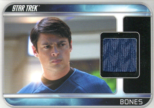 Star Trek The Movie 2009 Karl Urban as Bones Costume Card CC7   - TvMovieCards.com