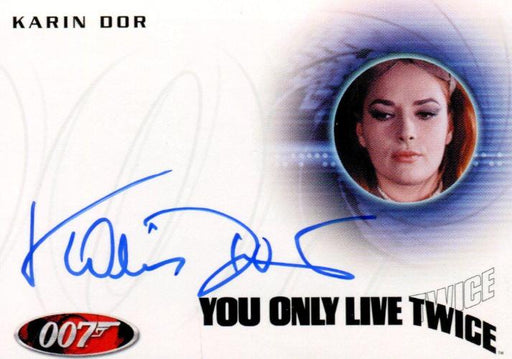 James Bond Archives 2014 Edition Karin Dor Autograph Card A253   - TvMovieCards.com