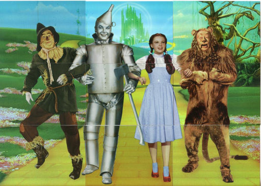 Wizard of Oz 9 Chase Card Set  Breygent Wiz Quiz Foil Puzzle Cards   - TvMovieCards.com