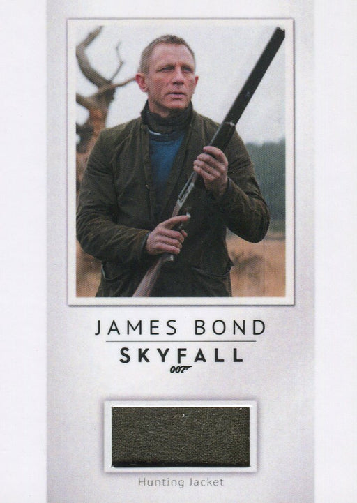 James Bond Archives Final Edition 2017 Relic Costume Card PR30 #188/200   - TvMovieCards.com