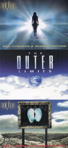 Outer Limits Sex, Cyborgs & Science Fiction Promo Card Set 3 Cards   - TvMovieCards.com