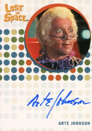 Lost in Space Complete Arte Johnson as Fedor Autograph Card   - TvMovieCards.com