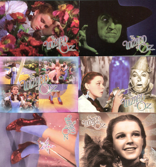 Wizard of Oz Season 2 Breygent Promo Card Set 6 Cards   - TvMovieCards.com