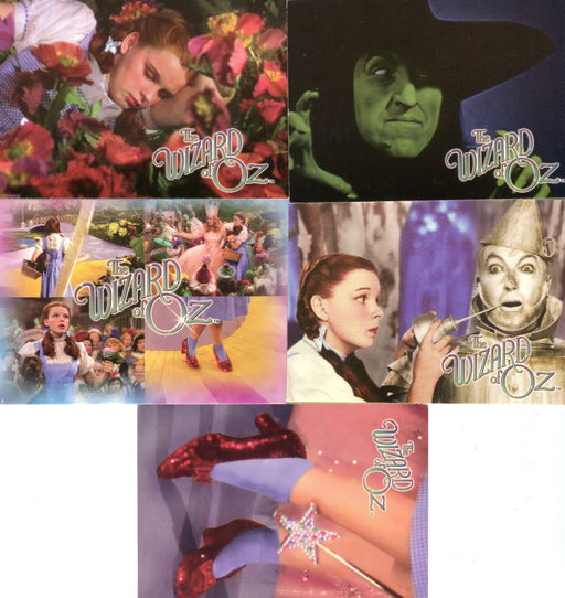 Wizard of Oz Season 2 Breygent Promo Card Set 5 Cards   - TvMovieCards.com
