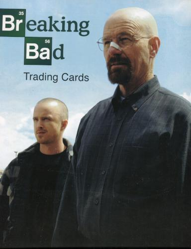 Breaking Bad Seasons 1-5  Empty Collector Card Album   - TvMovieCards.com