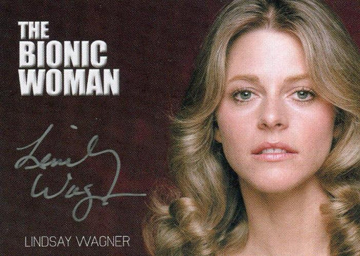 Bionic Collection Archive Box Exclusive Lindsay Wagner Autograph Card   - TvMovieCards.com